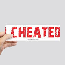 Cheat Bumper Stickers - CafePress